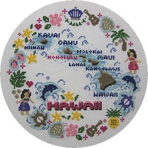まぁるい Hawaii 図案