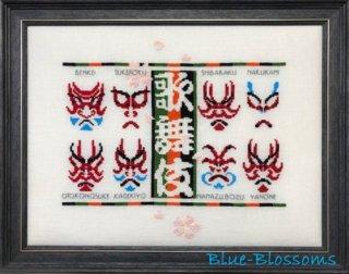 歌舞伎「隈取」 図案