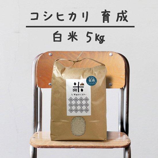 コシヒカリ「育成」<br>(減農薬&カルテック)<br>白米 5キロ