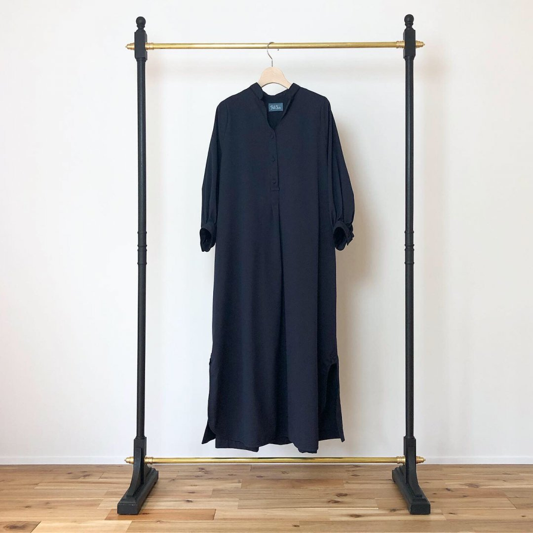 PaleJute Weekend one-piece<BR>NAVY×BLACK