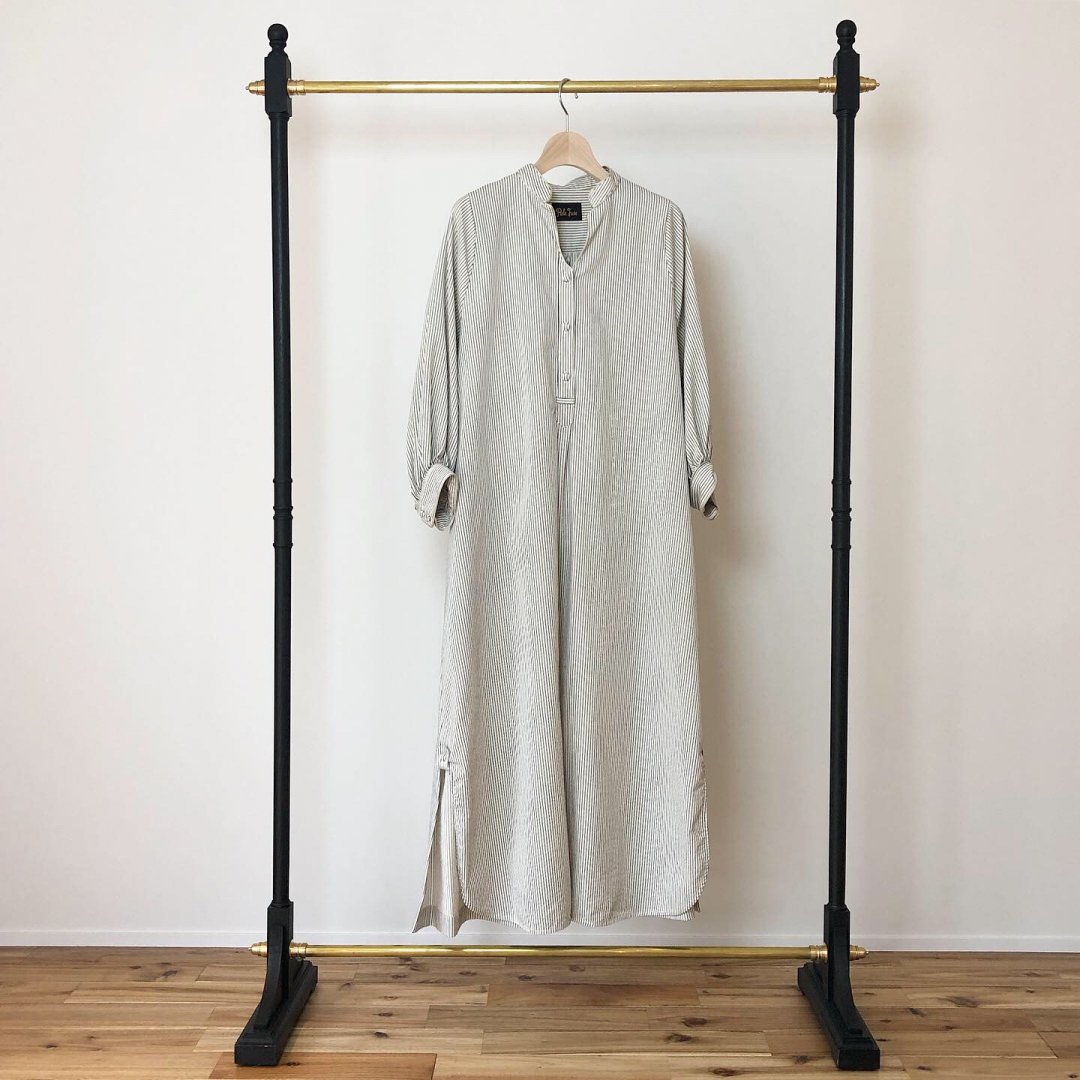PaleJute Weekend one-piece<BR>IVORY×NAVY