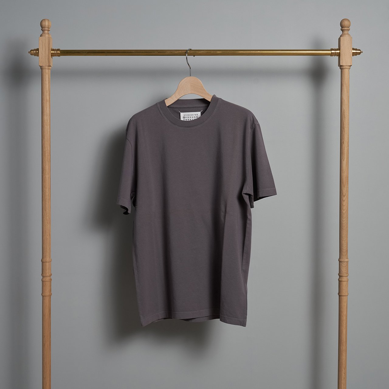 Maison Margiela PARIS <BR> COTTON  T - SHIRT <BR>スモーキーグレー