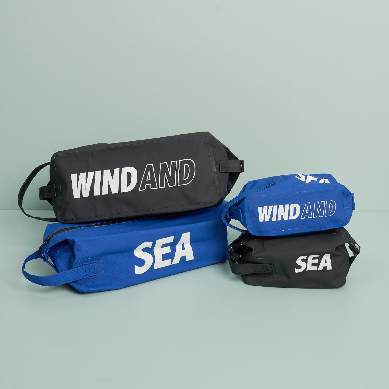 WIND AND SEA<BR>WDS DOPP KIT BAG<BR>