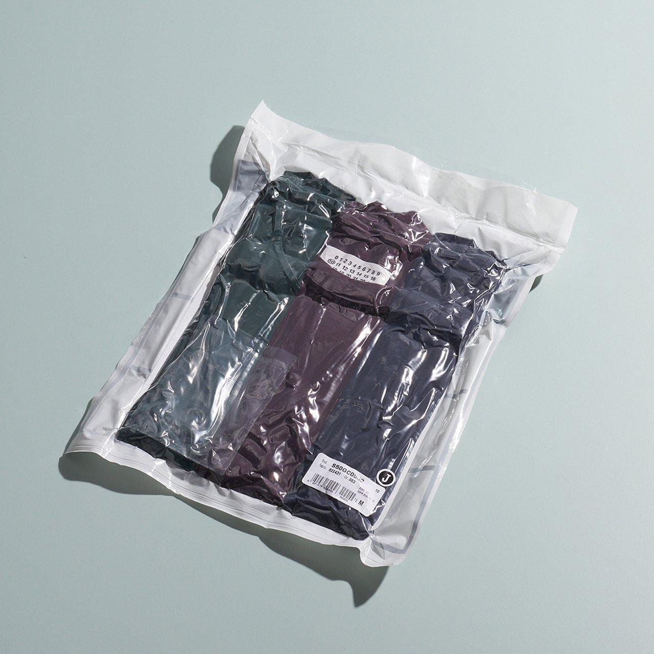 Maison Margiela PARIS <BR>パックTシャツ<BR>グリーン バーガンディー ネイビー