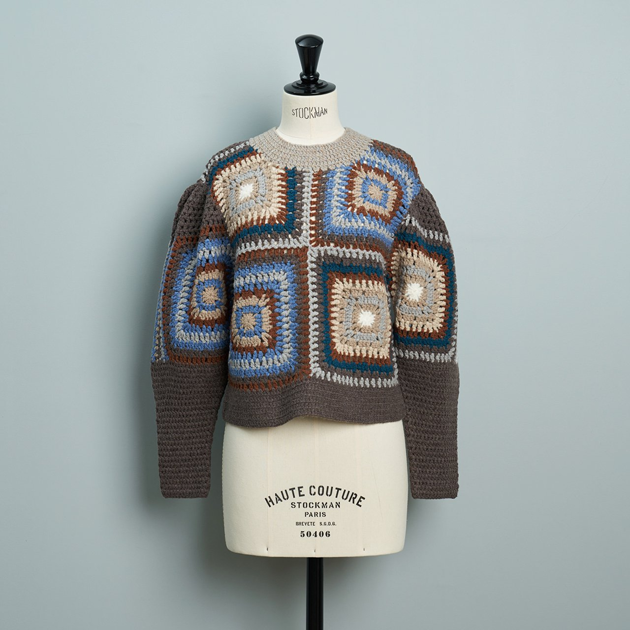 Sea New York FARRAH SWEATER<BR>BROWN
