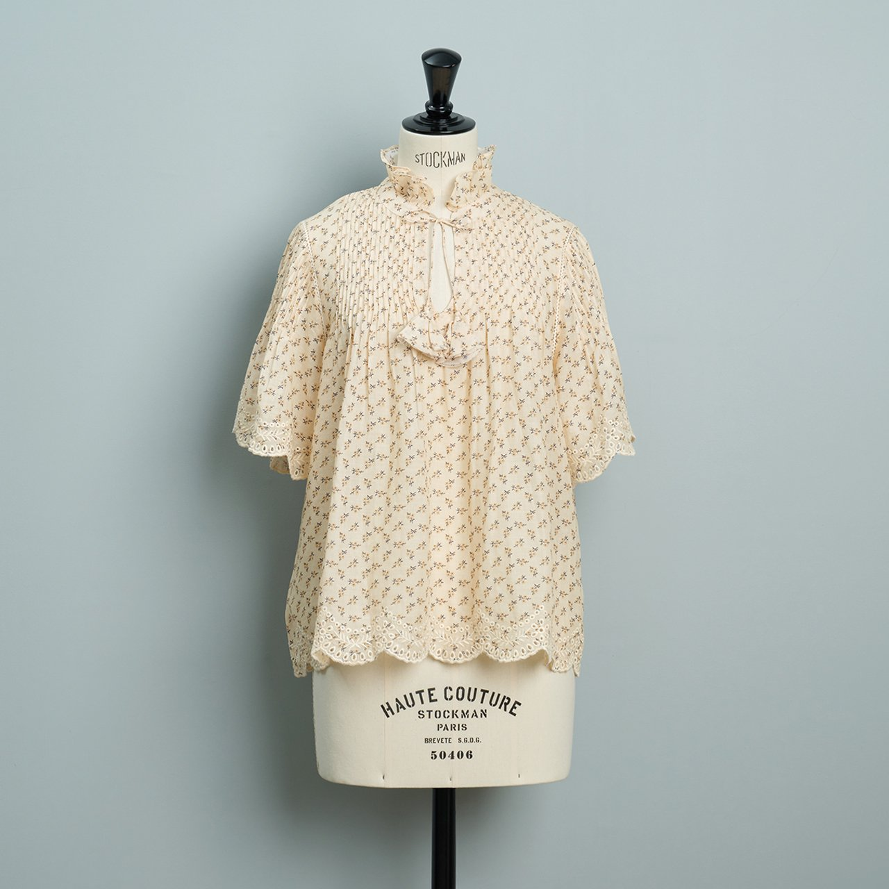 Sea New York DITSY MIX S/S TOP<BR>CREAM