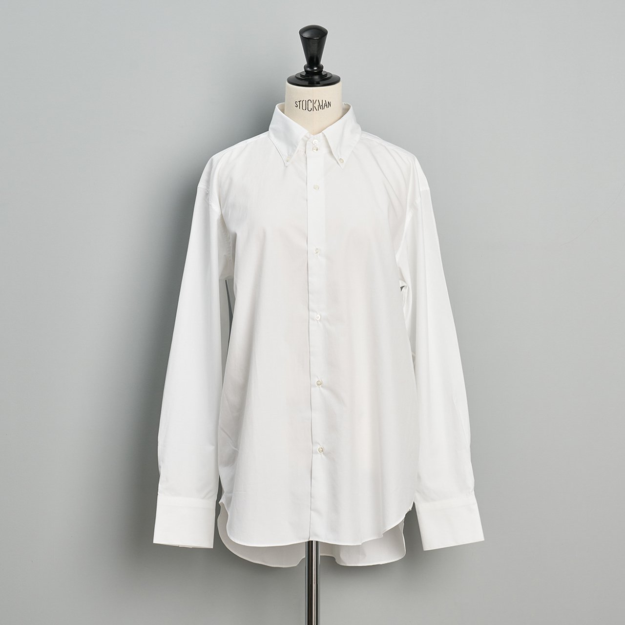 seya.<BR>Kashmir button down shirt<BR>white