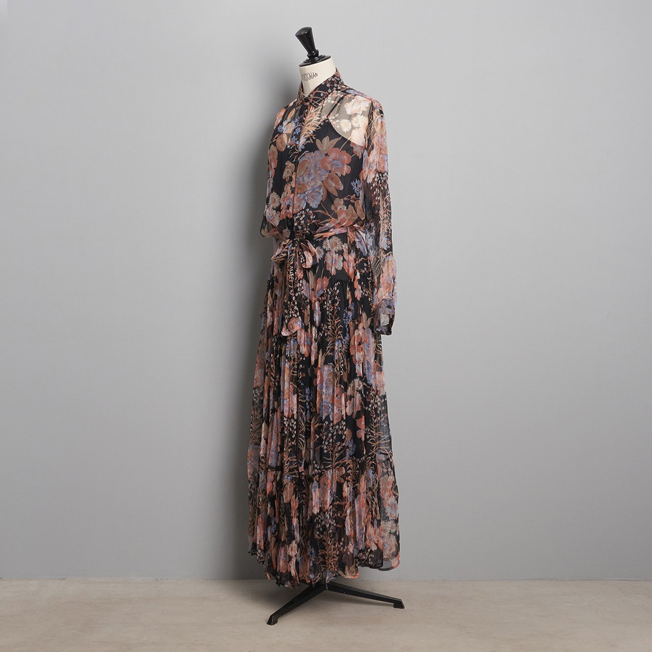 Mes Demoiselles<BR>DRESS HALFETI<BR>FLORAL COMBO