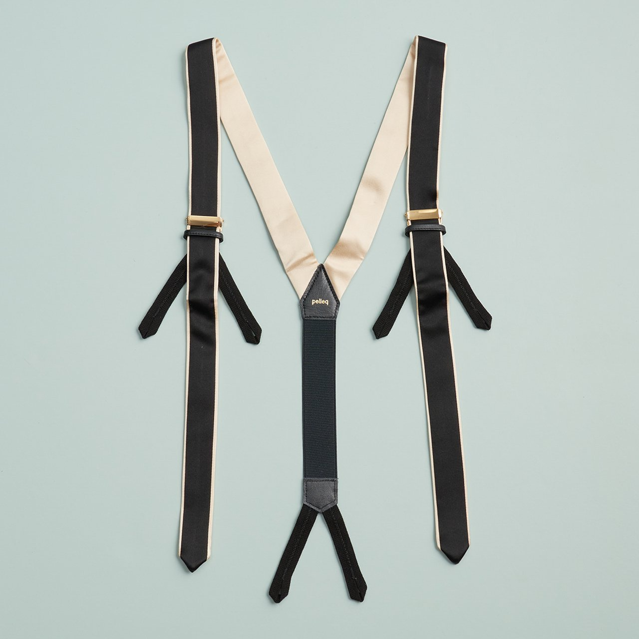 pelleq<BR>suspender<BR>BLACK