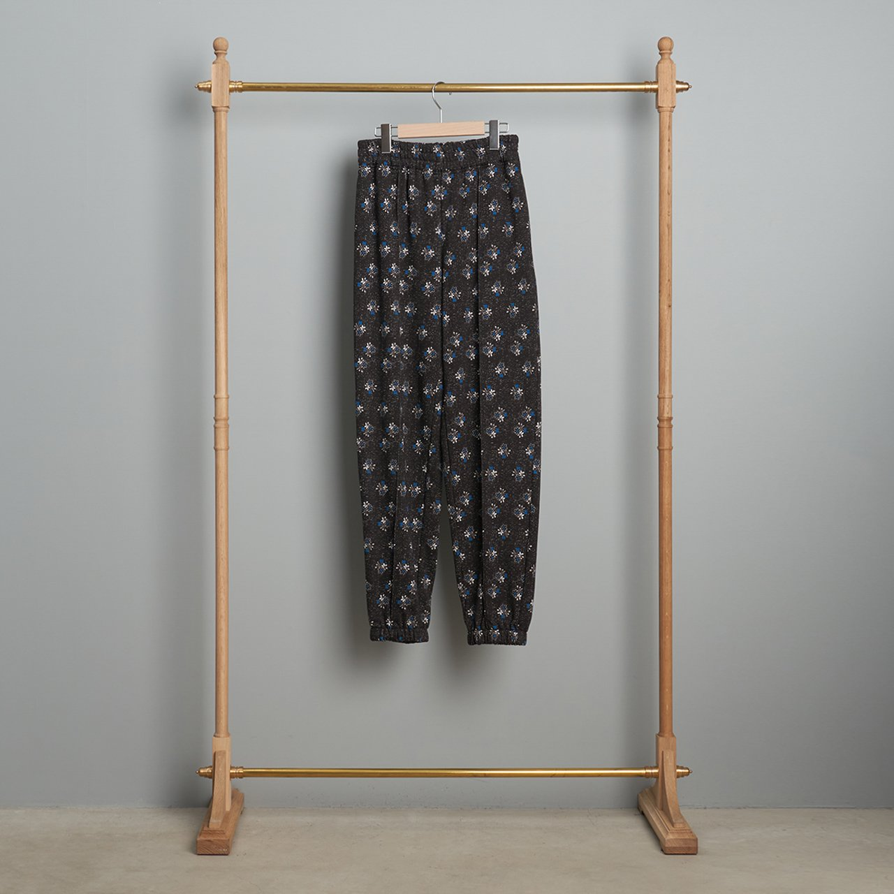 Sea New York<BR>DITSY MIX SWEATPANTS<BR>BLACK