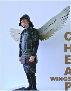 大判ポストカード「cheap wings」