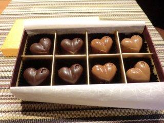 ピュアチョコレート8個入