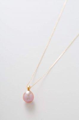 Metallic pearl ネックレス イベント限定