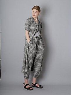 T.yamai paris チェックドレス