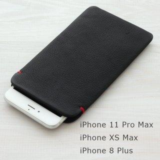 iPhoneXS Max/iPhone8 Plus/7 Plus 本牛革レザースリーブケース