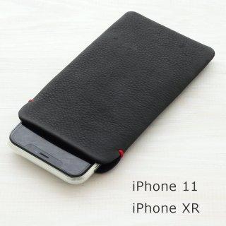 iPhone XR(6.1インチ) 本牛革レザースリーブケース