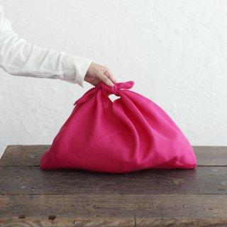 リネンのあづま袋 M 50cm ピンク