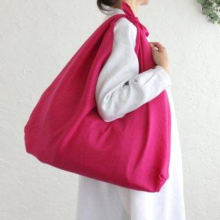 リネンのあづま袋 L  ピンク