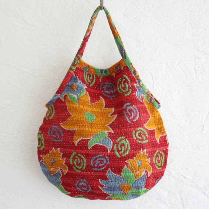 インド刺し子コットントートバッグ