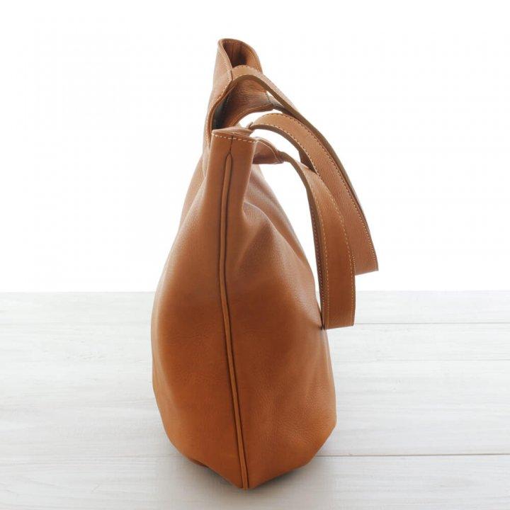 本牛革 レザーショルダーバッグ tulip
