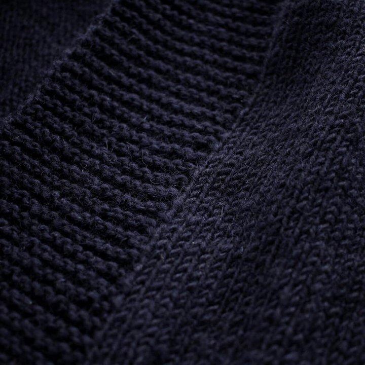 ウール100% ニット フード付きロングカーディガン 羽織り