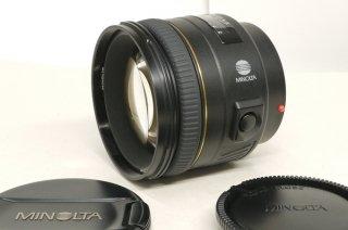 ミノルタ AF 85mm F1.4