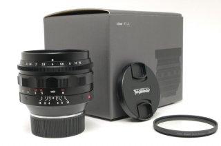 フォクトレンダーVM  NOKTON 50mm F1.1 元箱、フィルター付 新品同様