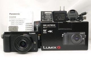 パナソニック LUMIX G  DMC-GX7MK2K 12-32mm付 元箱一式付 新品同様