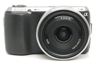 ソニーα NEX-C3 16mm F2.8 極上美品
