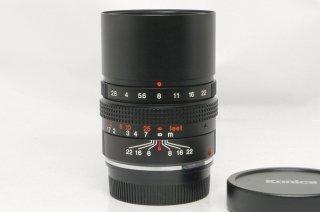 コニカ M-HEXANON 90mm F2.8 元箱、ケース付 極上美品