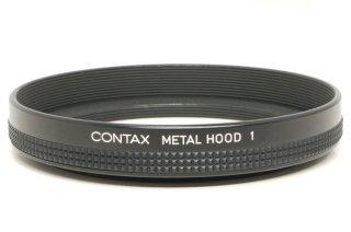 CONTAX METAL HOOD 1 極上美品