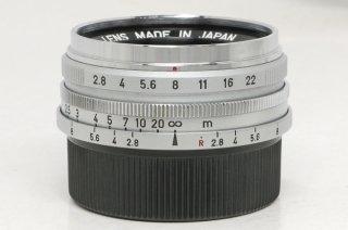 キャノン ライカLマウント 28mm F2.8 極上美品