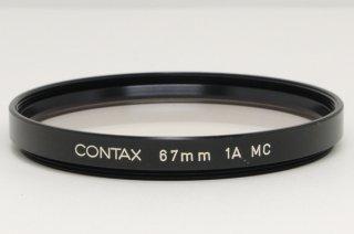 コンタックス 67mm 1A MC 極上美品