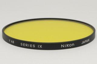 ニコン フィルター SERIES � Y48 極上美品