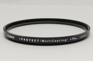 キャノン 77mm フィルター PROTECT (Multi Coating) 極上美品