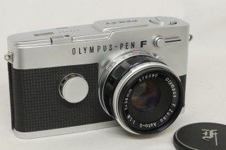 オリンパス PEN-FT 38mm F1.8付