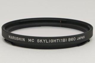 ハッセル用フィルター MC SKYLIGHT (1B) B60 (マルシン) 極上美品