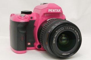 ペンタックス K-r 18-55mm F3.5-5.6 AL DA付 (ボディーカラー ピンク) 極上美品