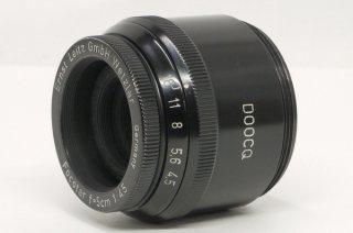 フォコター 50mm F4.5 引き延ばしレンズ