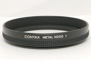 CONTAX METAL HOOD 1 新品同様