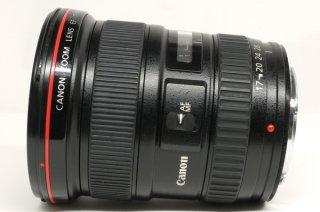 キャノン EF 17-40mm F4 L USM 元箱、フード、ケース付 極上美品