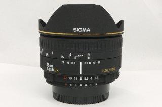シグマ 15mm F2.8 D EX FISHEYE 180°(ニコン用) 極上美品