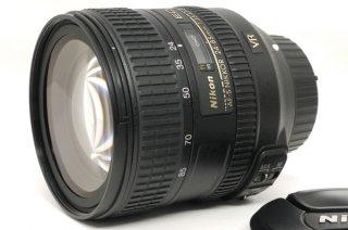 AF-S NIKKOR 24-85mm F3.5-4.5 G ED VR フード付 極上美品