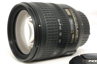 ニコン AF-S DX 18-70mm F3.5-4.5 G ED フード付 極上美品