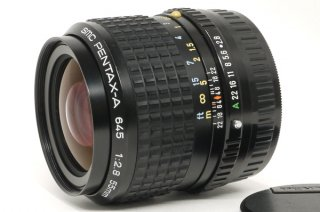 SMC PENTAX-A 645用 55mm F2.8 極上美品