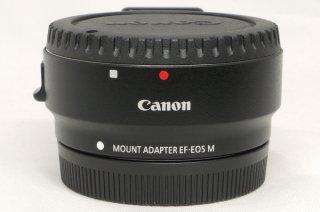キャノン マウントアダプター EF-EOS M 三脚座付 極上美品