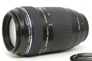 オリンパス ZUIKO DIGITAL 70-300mm F4-5.6 ED フード付 (フォーサーズマウント) 極上美品