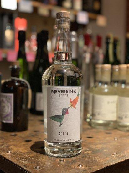 ネバーシンク スピリッツジン Neversink Spirits Gin