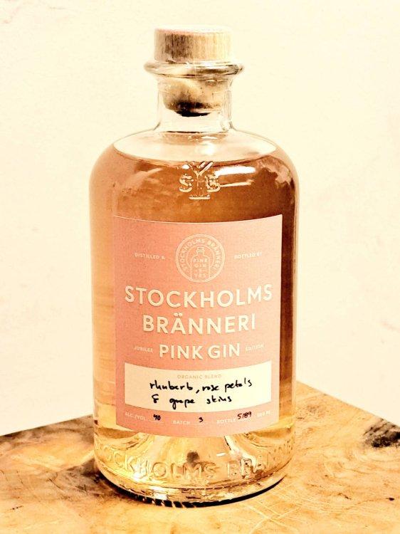 ストックホルム ブランネリ ピンク ジン Stockholms Branneri Pink Gin