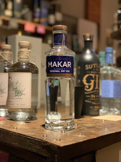 MAKAR GLASGOW ORIGINAL DRY GIN  500ml  マッカー グラスゴージン